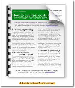 Download 7 Steps for Reducing Fleet Mileage