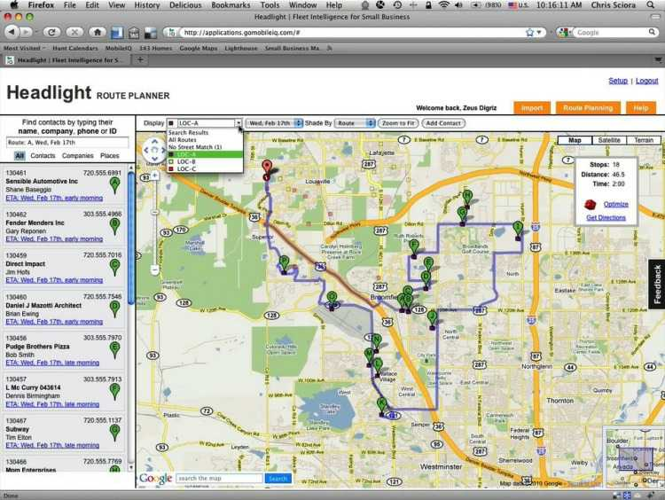 Plan routes and get driving directions in seconds
